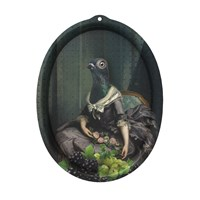 Ibride Galerie De Portraits Oval Tray Isild