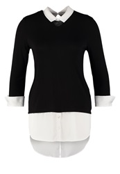 Dorothy Perkins Long Sleeved Top Black And White