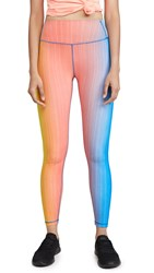 Splits59 Kinney High Waist 7 8 Leggings Ombre Print