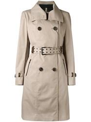 Mackage Caroline Trench Coat Nude Neutrals