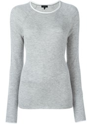 Rag And Bone Rag And Bone Slim Fit Sweater Grey