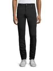 Diesel Black Gold Stretch Knit Denim Skinny Jeans Black
