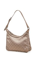 Wgaca What Goes Around Comes Around Lv Beige Satin Little Boulogne Bag