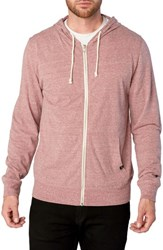 Threads For Thought Giulio Zip Hoodie Brick Red
