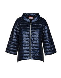 Bini Como Synthetic Down Jackets Dark Blue