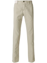 Incotex Straight Leg Suit Trousers Nude And Neutrals