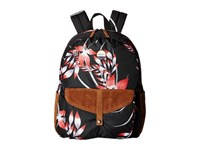 Roxy Carribean Anthracite Mistery Floral Backpack Bags Blue