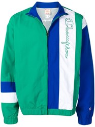 Champion Embroidered Sports Jacket Green