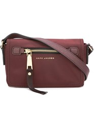 Marc Jacobs Trooper Cross Body Bag Pink Purple