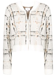 Current Elliott Bets Cropped Cardigan White