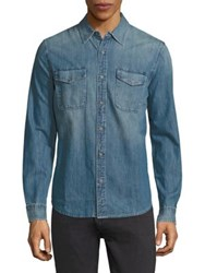 Ag Jeans Benning Denim Regular Fit Shirt Galley