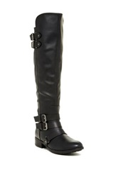 Dolce Vita Landrie Knee High Riding Boot Black