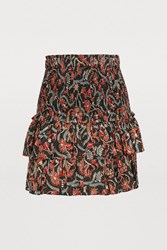 Etoile Isabel Marant Naomi Cotton Skirt Black
