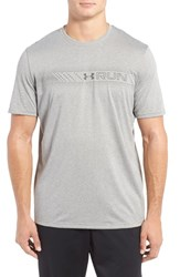 Under Armour Men's Run Graphic Performance T Shirt