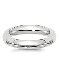 Bloomingdale's 4Mm Comfort Fit Band Ring In 14K White Gold 100 Exclusive