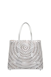 Azzedine Alaia Circle Tote Bag Grey