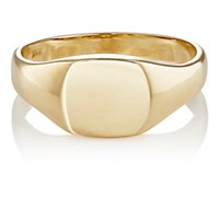 Grace Lee Women's Gold Signet Ring No Color