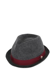 Dsquared Wool Felt Brim Hat