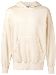 Yeezy Boxy Fit Hoodie Unisex Cotton S Nude Neutrals