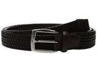Torino Leather Co. 35Mm Italian Woven Stretch Brown Belts