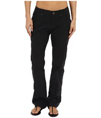Royal Robbins Discovery Roll Up Pants Jet Black Women's Casual Pants