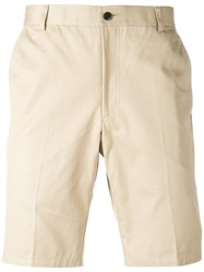 Thom Browne Unconstructed Chino Shorts Nude Neutrals