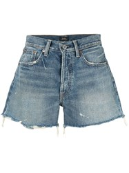 Polo Ralph Lauren Cut Off Shorts Blue
