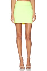 Susana Monaco Slim Skirt Yellow
