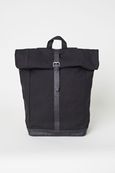 Handm Canvas Backpack Black