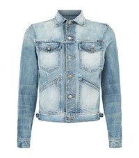 Tom Ford Denim Jacket Male Light Blue
