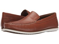 Hush Puppies Bob Portland Tan Leather Men's Slip On Shoes