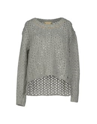 Met And Friends Sweaters Light Grey