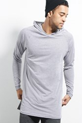 Forever 21 Cross Colours Longline Hoodie