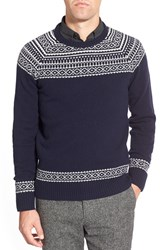 Men's Bonobos Fair Isle Raglan Sleeve Lambswool Sweater