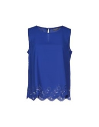 Darling Tops Bright Blue