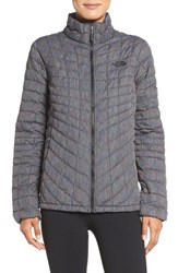The North Face Women's Thermoball Tm Full Zip Jacket Tnf Black Multicolor