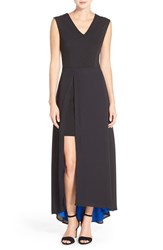 Women's Eci Overlay Drape Maxi Dress