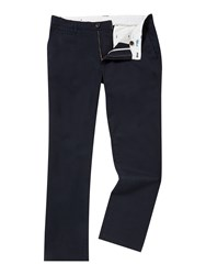 Linea Turner Cotton Chinos Navy