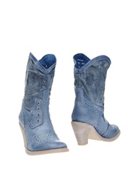 Dkode Ankle Boots Azure