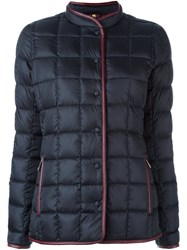 Fay Quilted Puffer Jacket Blue