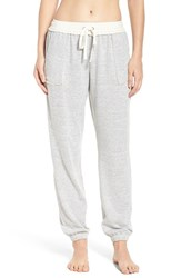 Kensie Women's Jogger Pants Light Heather Grey