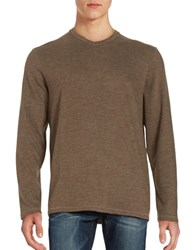 Tommy Bahama Sedona Sands V Neck Sweater Brown