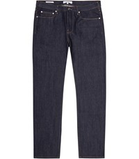 Reiss Marshall Straight Straight Fit Jeans In Blue Mens