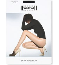 Wolford Satin Touch 20 Nylon Blend Tights Black