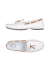 Triver Flight Loafers White