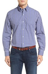 Tailorbyrd Men's Big And Tall 'Enzo' Regular Fit Dobby Check Sport Shirt