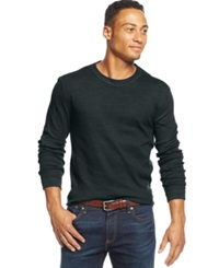 Club Room Big And Tall Thermal Long Sleeve T Shirt Only At Macy's Dark Lead
