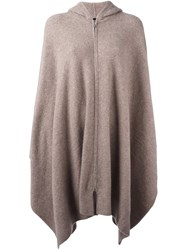 The Row Oversized Cardi Coat Nude And Neutrals