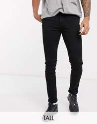 Voi Jeans Tall Skinny In Black