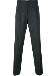 Dolce And Gabbana Tweed Trousers Grey